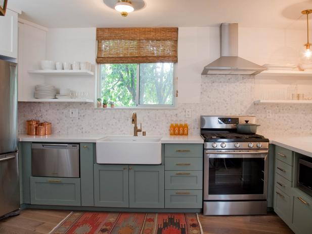 DIY Kitchen Cabinet Painting Tips & Ideas | DIY