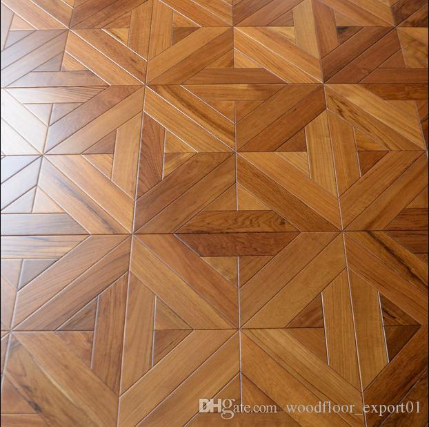 Teak Laminate Wood Flooring, Parquet Flooring, Art Deco, Hardwood