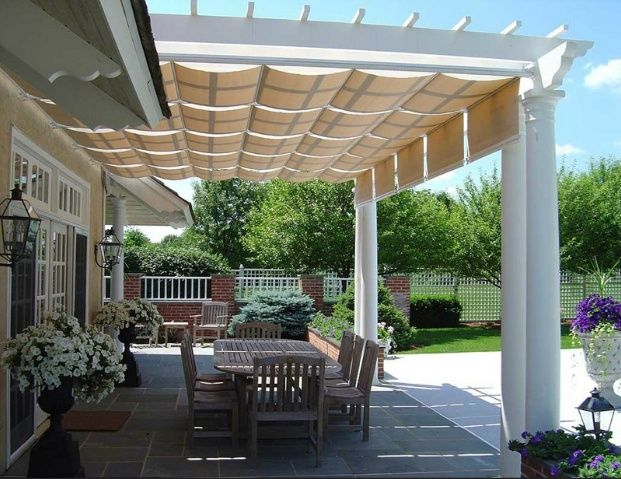 DIY Patio Awning Plans | Outdoor spaces in 2019 | Pinterest