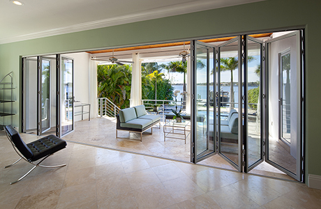Folding Glass Patio Doors | NanaWall