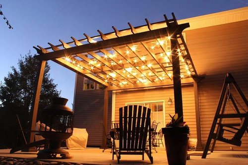 Custom Patio Lights vs. All-in-One Kits u2014 1000Bulbs.com Blog