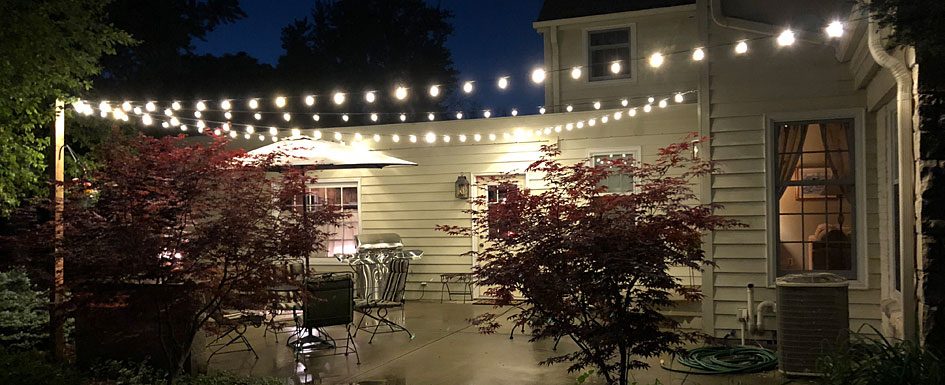 Create the Perfect Patio with Globe String Lights | Bright Ideas