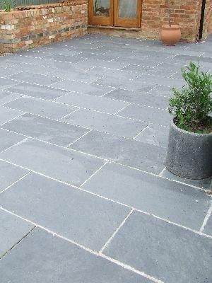 Black/Grey Slate Paving Patio Garden Slabs Slab Tile - Images hosted