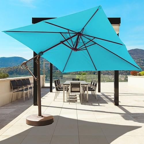 10' x 10' Cantilever Offset Patio Umbrella   iPatioUmbrella.com