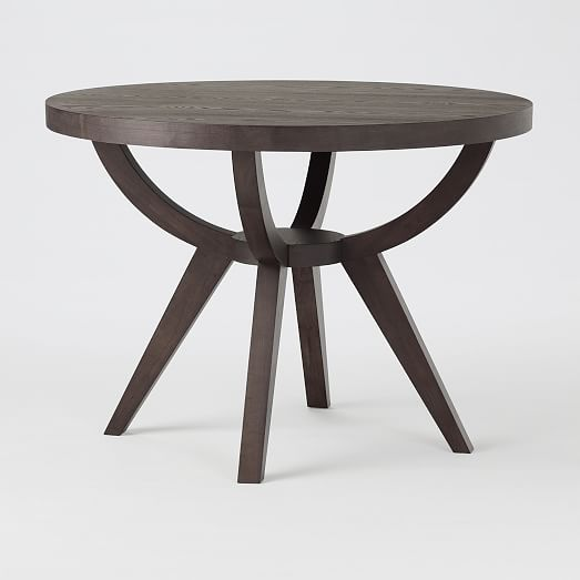 Arc Base Pedestal Table | west elm