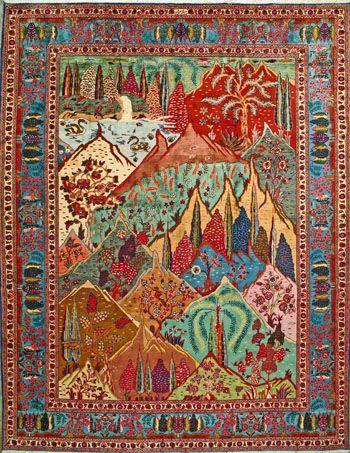 Tabriz Persian Rug, Buy Handmade Tabriz Persian Rug 9' 10