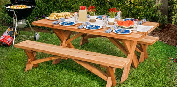 39 Free Picnic Table Plans To Build This Summer u2013 Home And Gardening