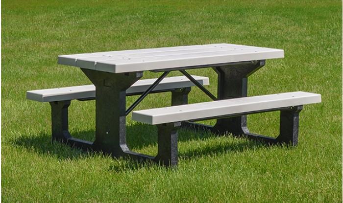 Providence Walk-Thru Picnic Tables | KirbyBuilt Products