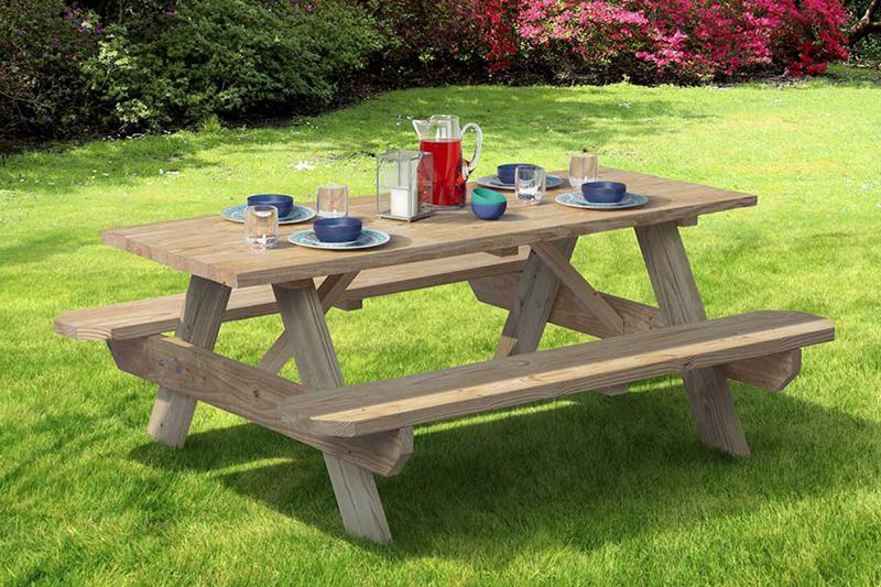 Picnic Tables - Outdoor Essentials