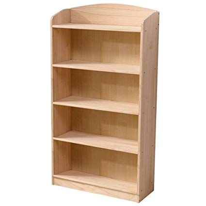 Amazon.com: Bookshelf Xiaomei, Pine Bookcase, Children's Solid Wood