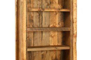 Weathered Pine Bookcase - Lodge Craft