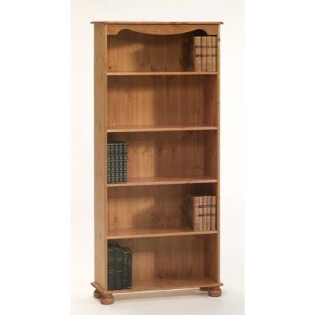 Steens Richmond Pine 4 Shelf Bookcase | Furniture123