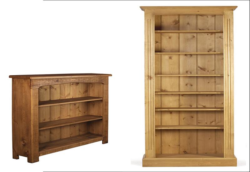 Pine Bookcase: A Small Library u2013 DesigninYou