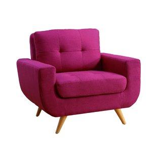 Hot Pink Arm Chair | Wayfair