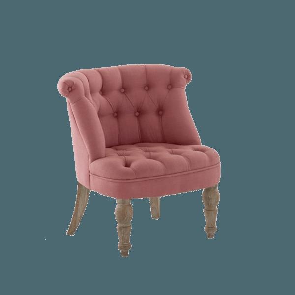 Pink Armchair Adélia - The Socialite Family