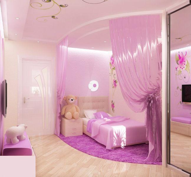 Girls Bedroom Designs Pink - lean-engine.com -