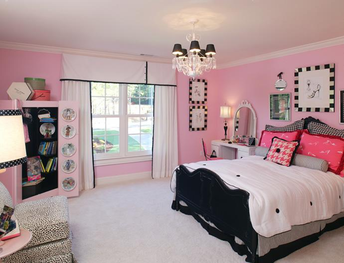 Ideas of stylish pink bedrooms for girls – CareHomeDecor