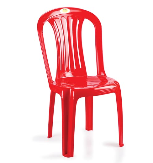 Nakoda Plastic Chairs Arm - Less: 111-1 Set Of 1 Pc Price : Buy