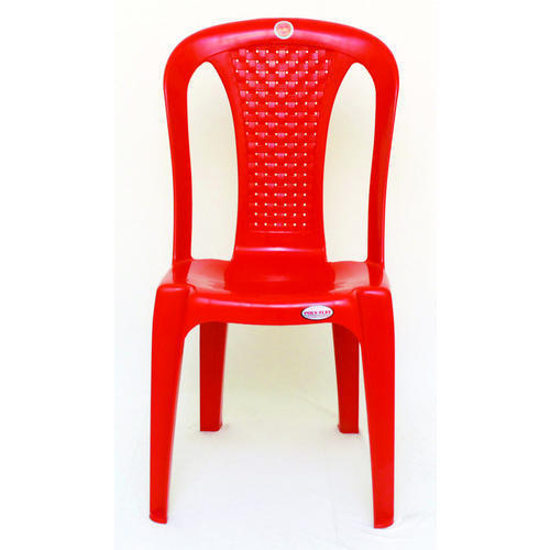 Red Large Plastic Chair, Usage: Indoor, Outdoor, Rs 380 /piece | ID