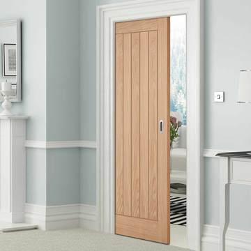 Oak Pocket Doors