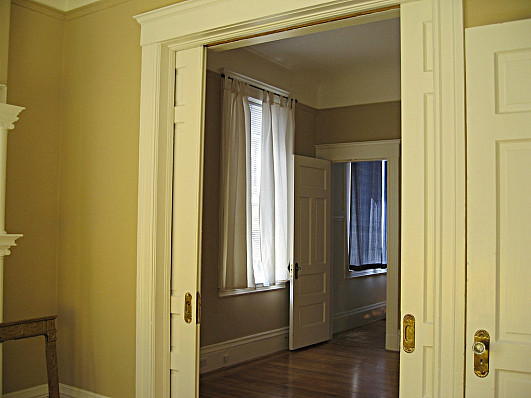 How can you frame your pocket   doors?