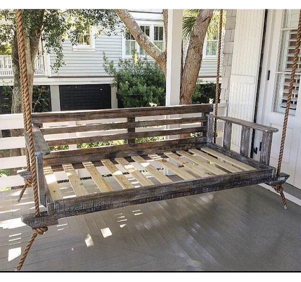 Vintage Porch Swings Noah Porch Swing | Wayfair