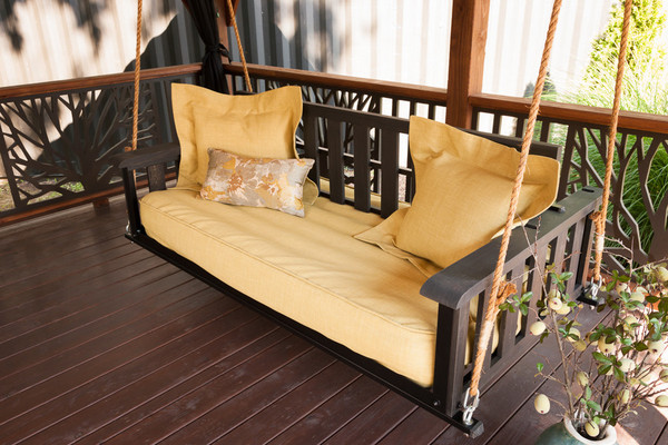 The Craftsman Pine Bed Swing - The Porch CompanyThe Porch Company