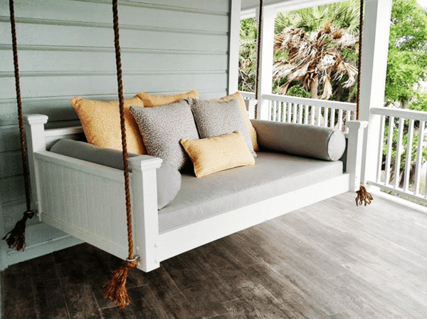 Custom Carolina Southern Savannah Swing Bed - Magnolia u2013 Magnolia