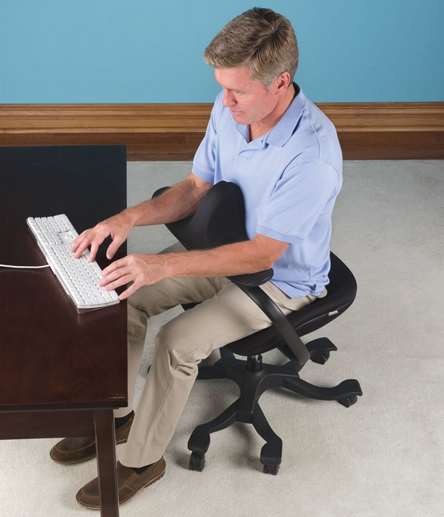 Questionable: The $500 'Optimal Posture' Office Chair - Geekologie