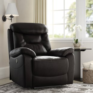Leather Power Recliners You'll Love   Wayfair
