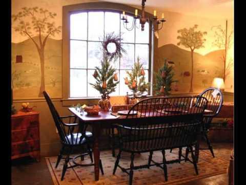 Primitive Decor Furniture | Primitive Furniture & Decor - YouTube