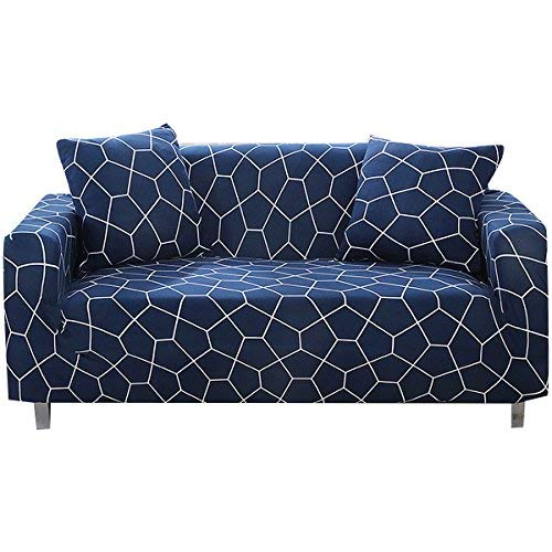 Amazon.com: FORCHEER Stretch Sofa Slipcover Printed Spandex Loveseat