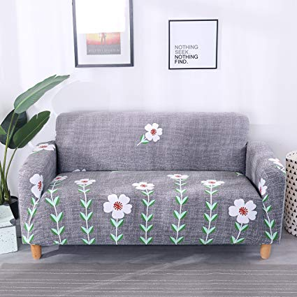 Amazon.com: Lamberia Printed Sofa Cover Stretch Couch Cover Sofa