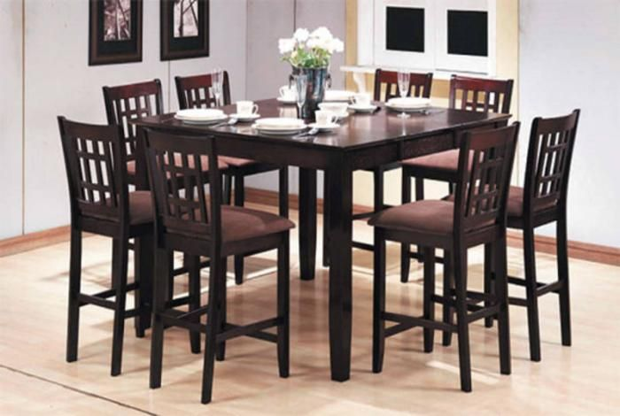 8 seat pub table   PC Pub Style Dining Set (Table + 8 Chairs) SALE