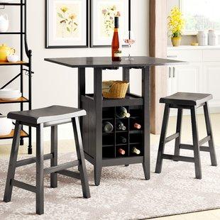 Wine Table And Chairs   Wayfair
