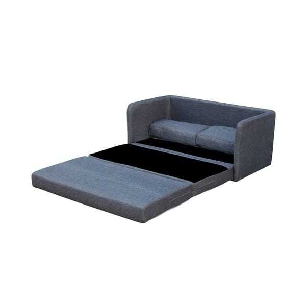Shop Phillip Dark Grey Loveseat with Pullout Bed - On Sale - Free