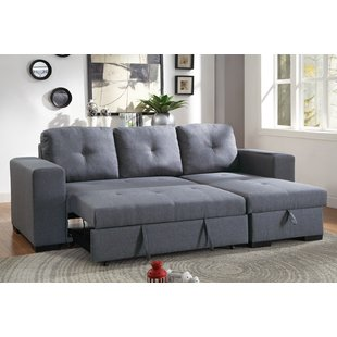 Sectional With Pull Out Bed   Wayfair