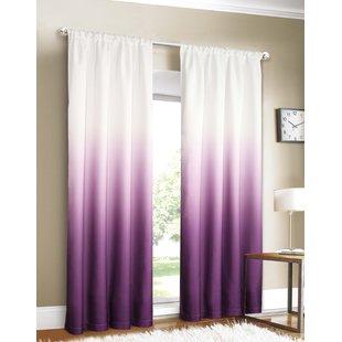 Purple Ombre Curtains | Wayfair