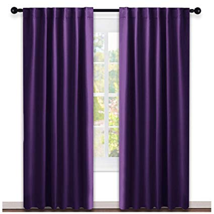 Amazon.com: NICETOWN Bedroom Curtains Blackout Drapery Panels