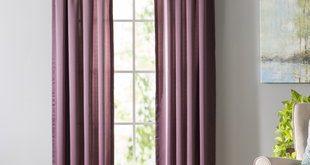 Purple Curtains & Drapes You'll Love | Wayfair