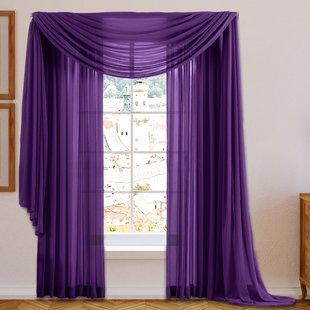 Purple Bedroom Curtains | Wayfair