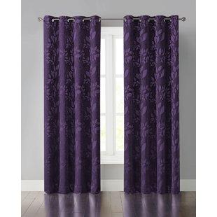 Short Purple Curtains | Wayfair