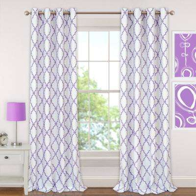 Purple - Curtains & Drapes - Window Treatments - The Home Depot