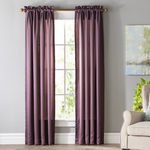 Give the perfect décor to your   house by using purple curtains