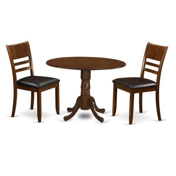 Shop DLLY3-ESP 3 Piece Dublin Dinette Table - Free Shipping Today