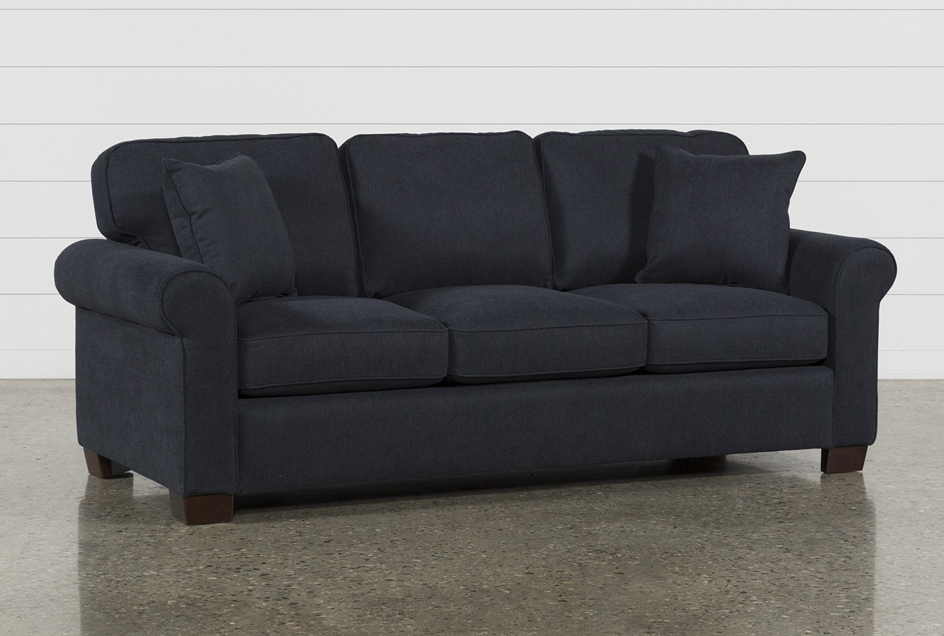 Margot Denim Queen Sofa Sleeper | Living Spaces