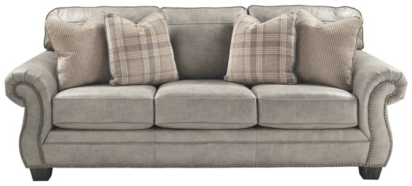 Olsberg - Steel - Queen Sofa Sleeper | 4870139 | Sleeper Sofa
