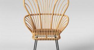 Avocet Rattan Fan Back Accent Chair - Opalhouse™ : Target