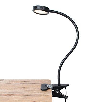 LEPOWER Clip on Light/Reading Light/Light Color Changeable/Night