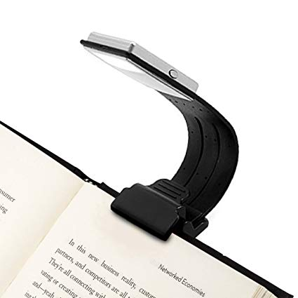 Amazon.com: Clip On Book Light Reading Light USB Rechargeable